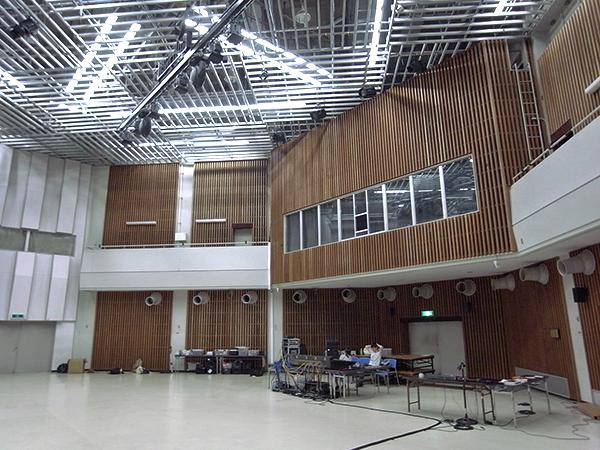 多次元ホール内