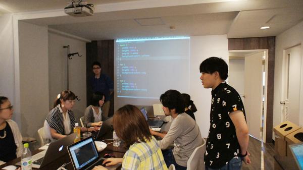HTML授業の様子2