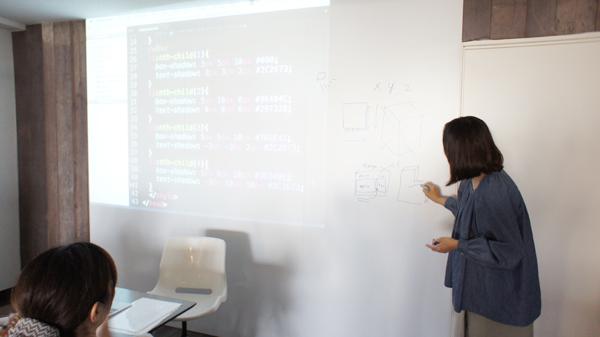HTML授業の様子
